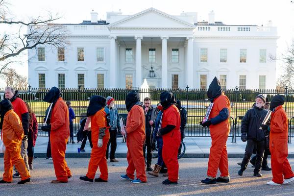 Guantanamo Bay Protest - Victoria Pickering/Flickr